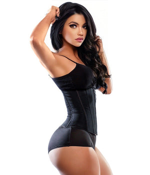 1835 - Latex-Free Waist Trainer - 3 Rows - Classic