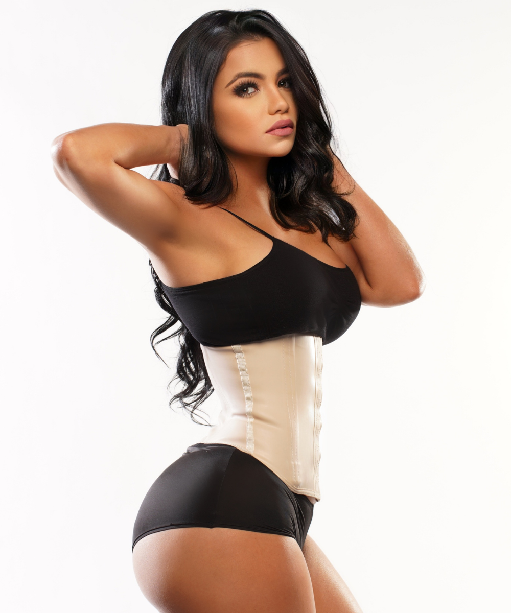 1825 - All Latex Waist Trainer | Short