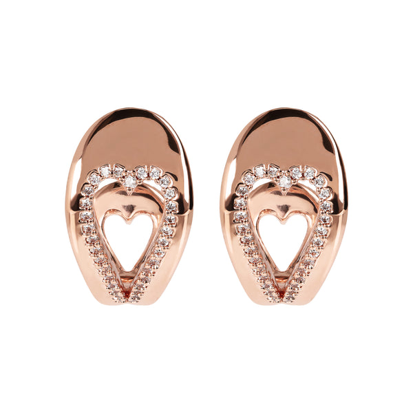 Double-Heart-CZ-Earrings-Golden-Rosé_earrings_black_1