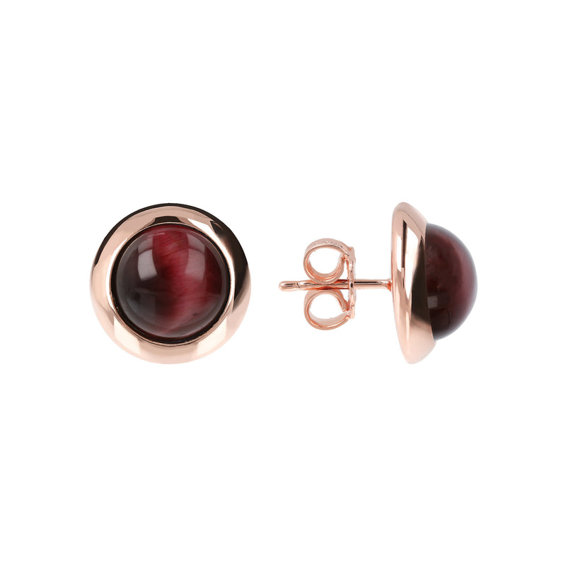 Earrings-with-Cabochon-Round-Stones_earrings_red_1
