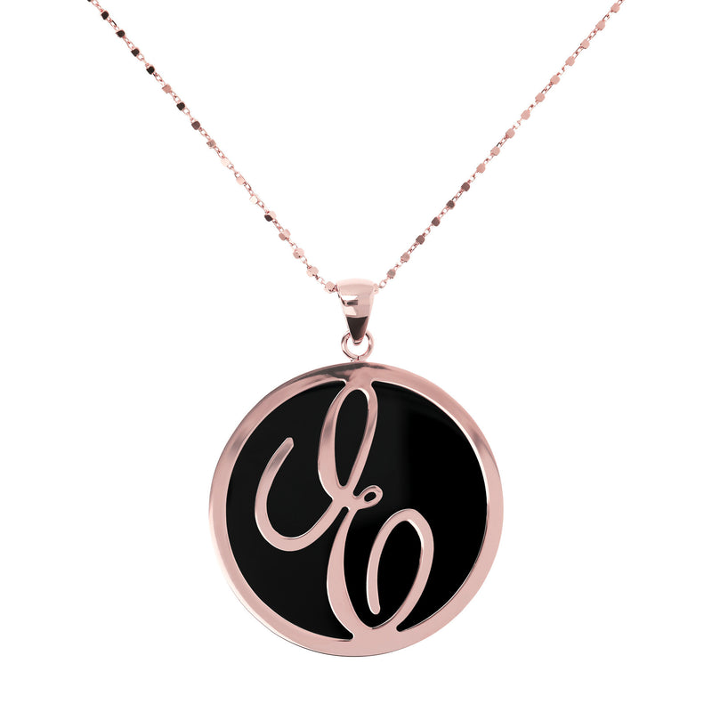 "Large-Custom-Initial-""Z""-Pendant-Necklace-with-Black-Onyx_necklaces_black_E"