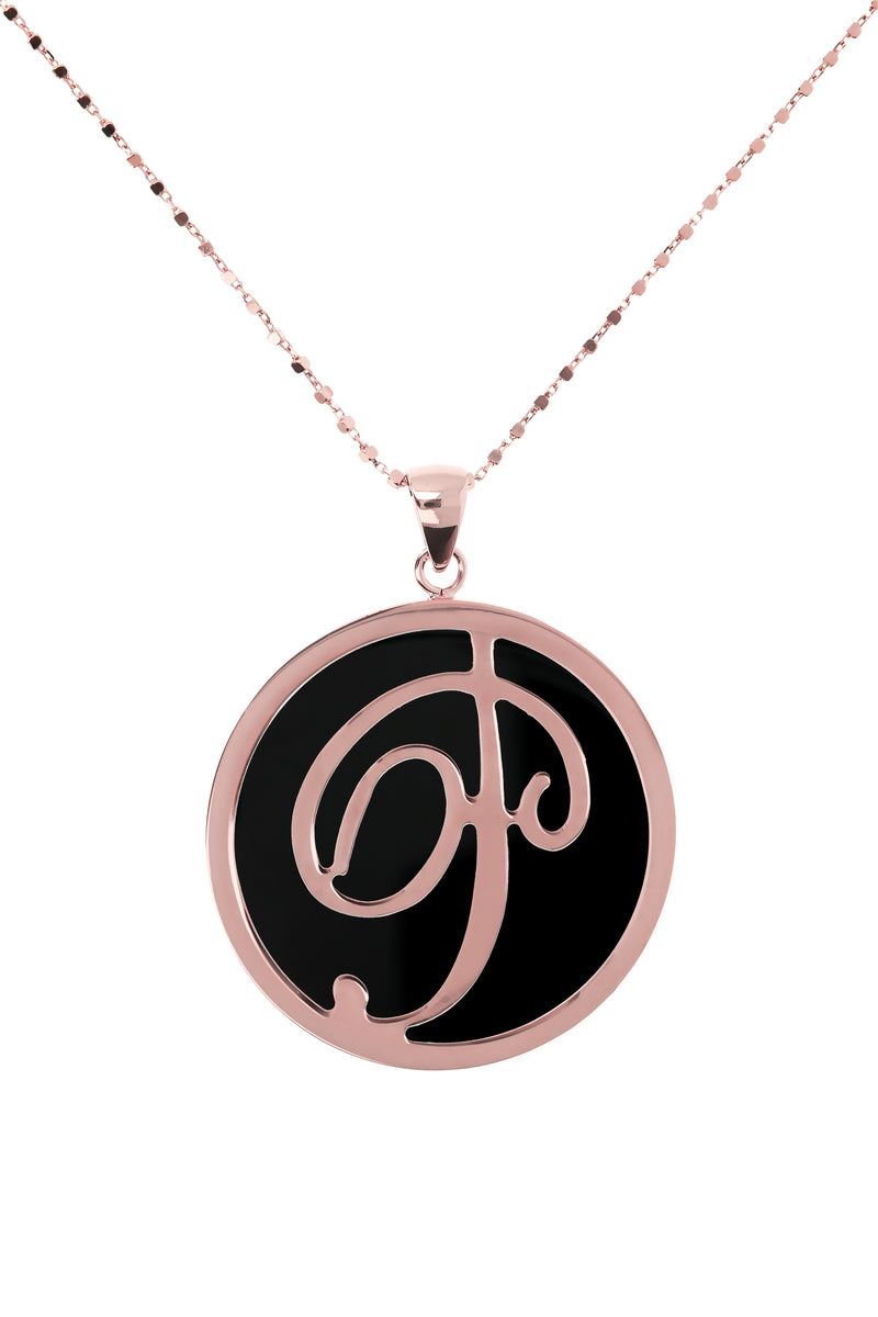 Large-Custom-Initial-Pendant-Necklace-with-Genuine-Stone_necklaces_black_P