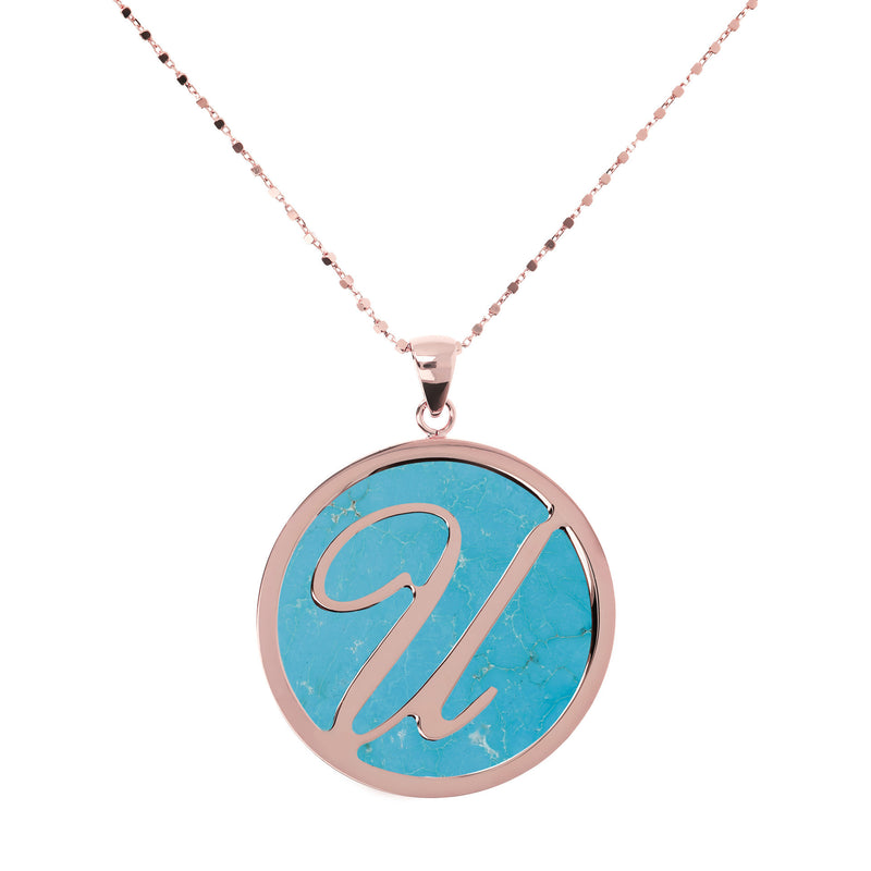 "Large-Custom-Initial-""Z""-Pendant-Necklace-with-Magnesite_necklaces_light-blue_U"