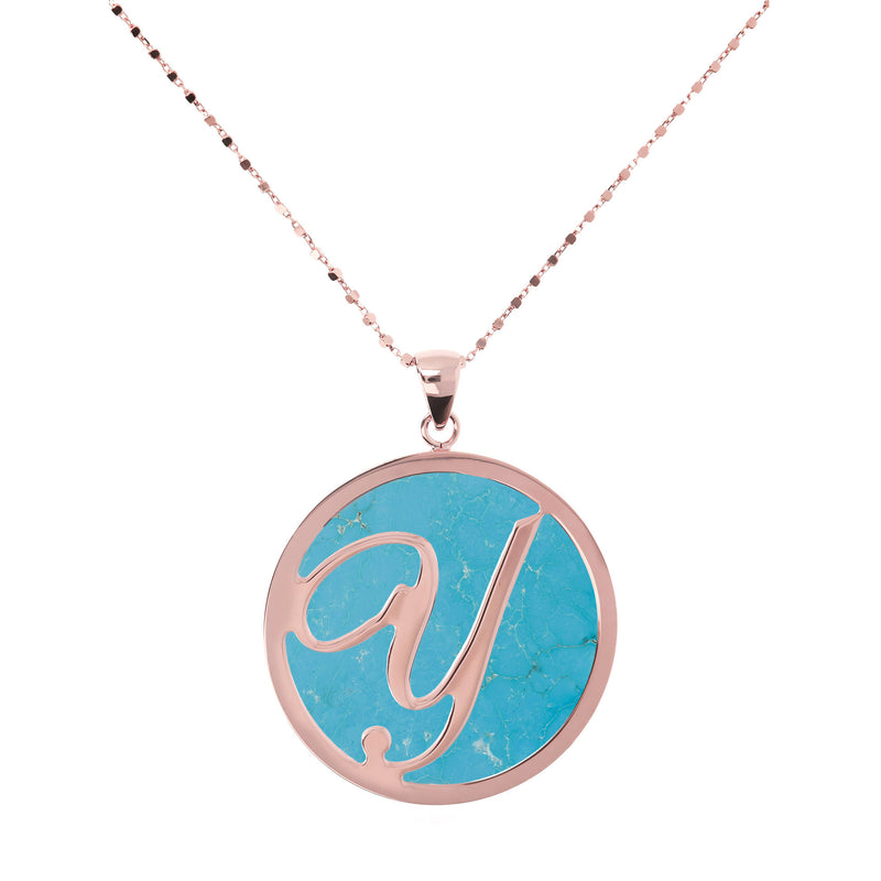 "Large-Custom-Initial-""Z""-Pendant-Necklace-with-Magnesite_necklaces_light-blue_Y"