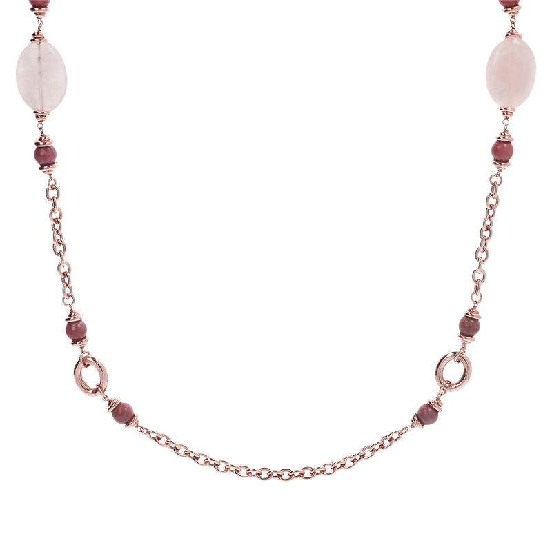 Pink-Stationary-Necklace-with-Gemstones_necklaces_pinkpink