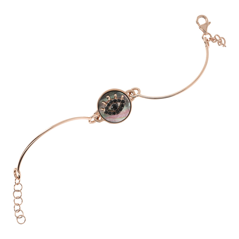 Semi-rigid-Bangle-with-Black-Mother-of-Pearl-and-Black-Spinel-Eye_bracciali_nero_1