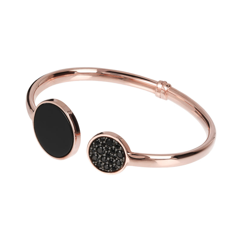 Spring-Bangle-with-Mother-of-Pearl-and-Cubic-Zirconia_bracelets_blackblack_BO
