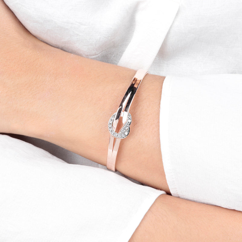 Pavé Knot Bangle