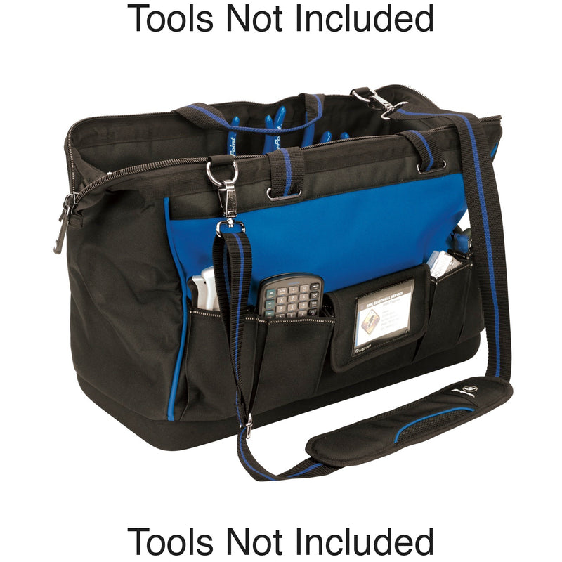 Vaughan 20 in. Wide Mouth Tool Bag
