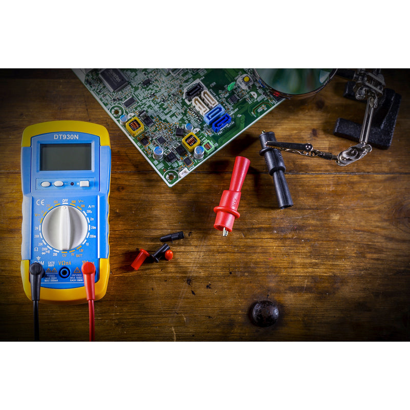 Multimeter Tester With Test Leads