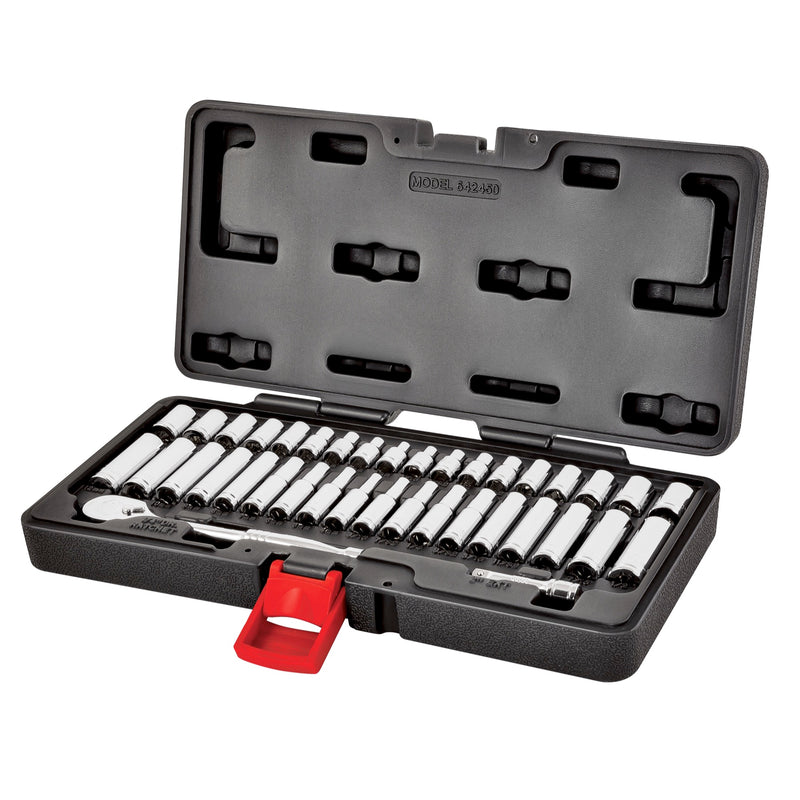 38 Piece 1/4 in. Drive Mechanics Tool Set