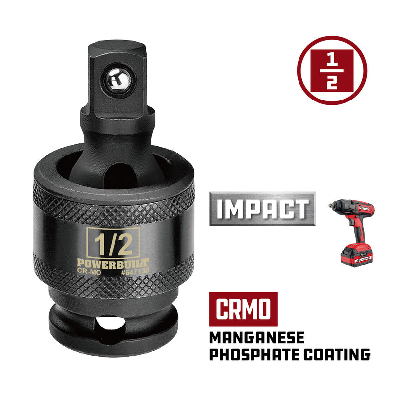 1/2 in. Dr. Impact Universal Joint