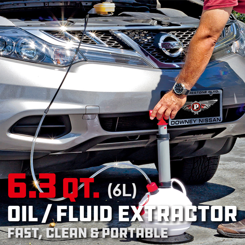 6.3Qt. (6L) Oil / Fluid Extractor