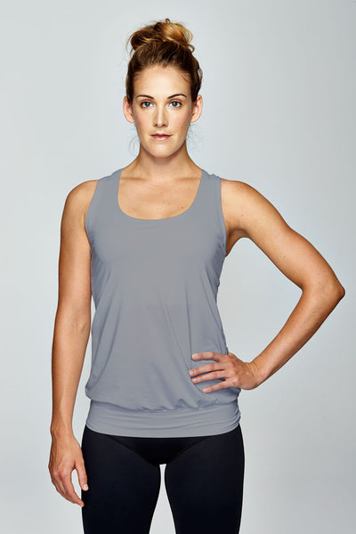 svvet grey tank top front view
