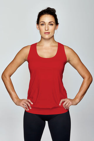 svvet red tank top front view