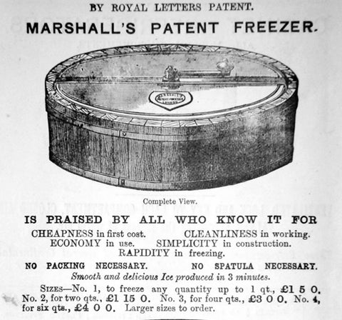 Agnes B. Marshall Entrepreneur, Invented At-Home Ice Cream and Frozen Dessert Maker