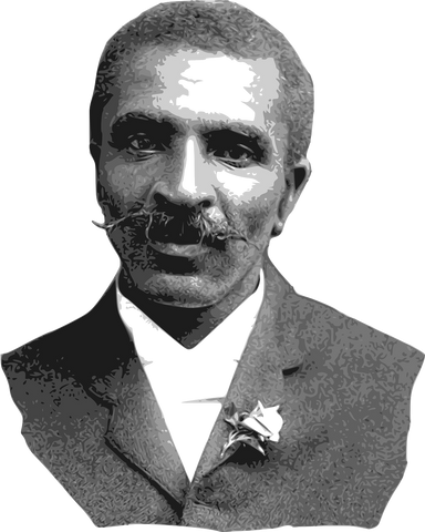 George Washington Carver Vector - Free License / Pixabay.