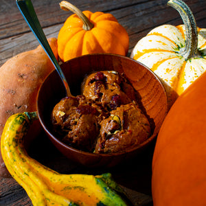 Sweet Pumpking Autumn (002) - Sweet Potato Gelato (Vegan and Gluten-Free) - 1 Pint - Free Delivery