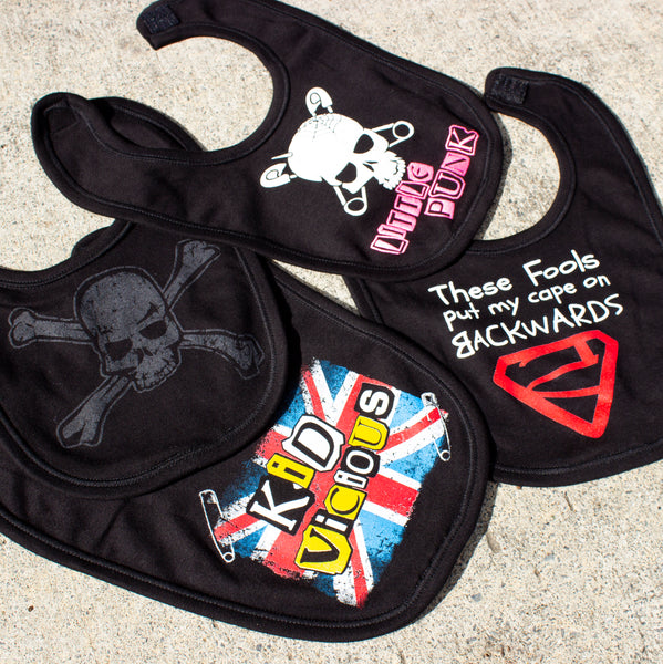 Darkside Clothing Alternative Baby Bibs