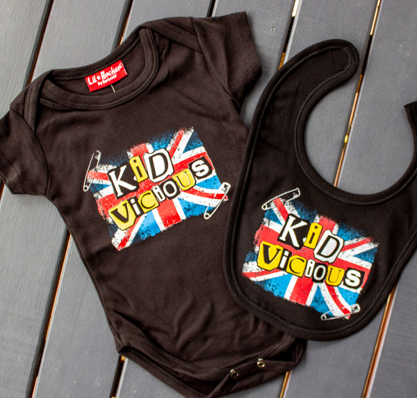 Darkside Kid Vicious Onesie & Bib