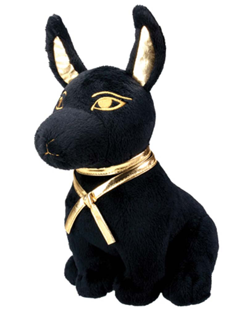 Egyptian Anubis Plush Sitting