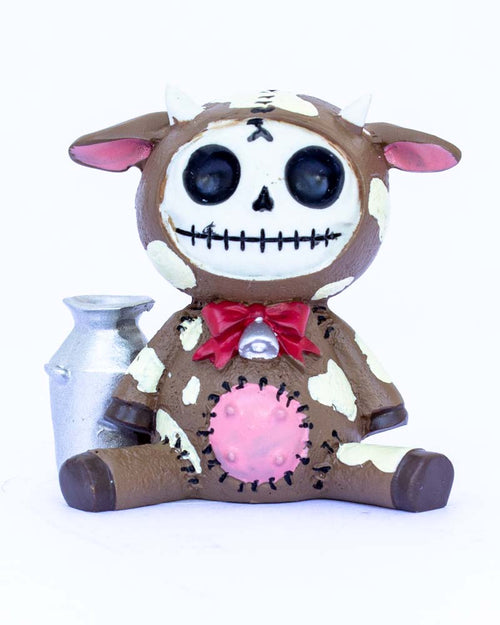 Furrybones Moo-Moo Figurine Brown