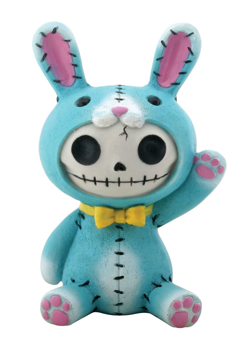 Furrybones Bun-Bun Bunny Rabbit Large Figurine Blue