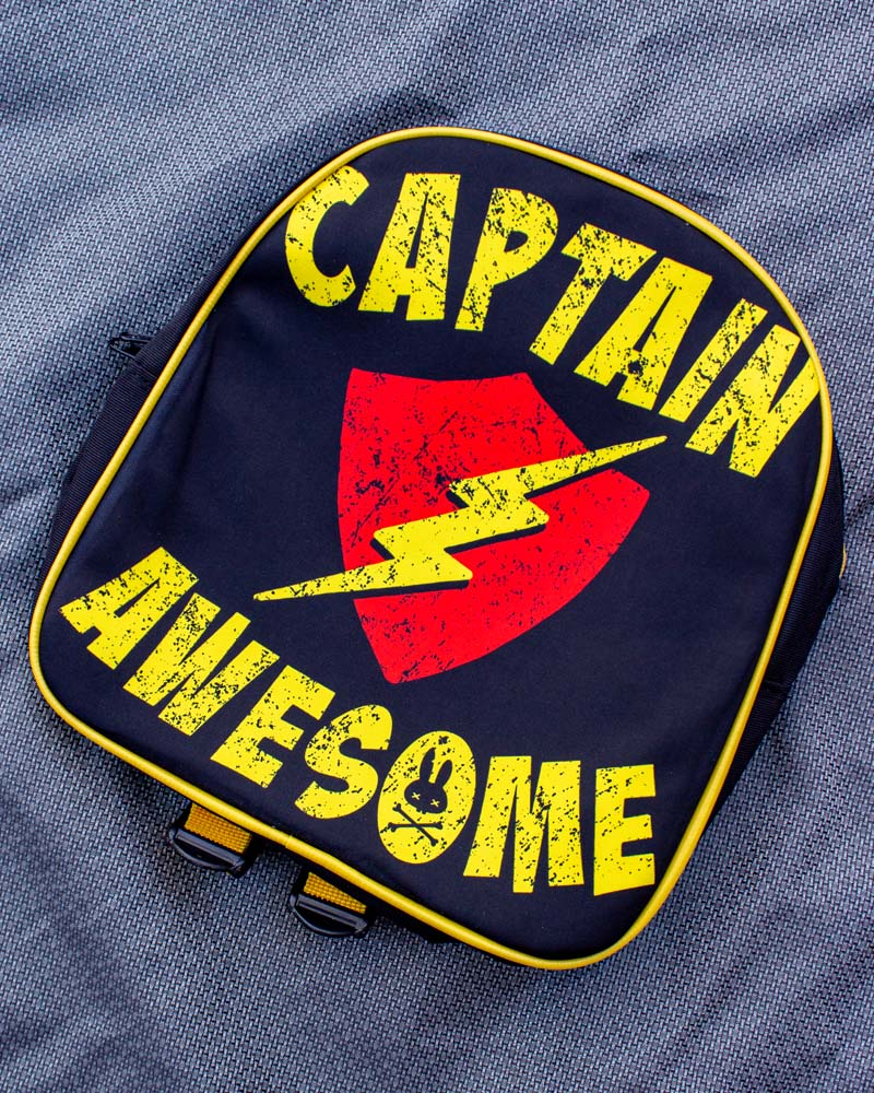 Six Bunnies Captain Awesome Backpack