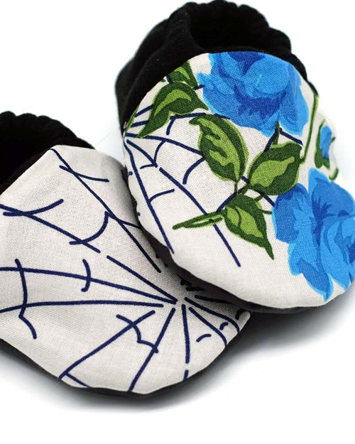 Charming Spiders Soft-Soled Baby Shoes