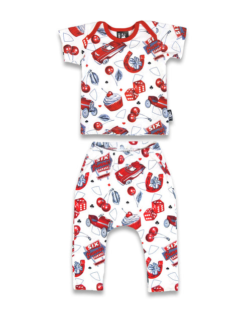 Cherry Garage Pyjama Set