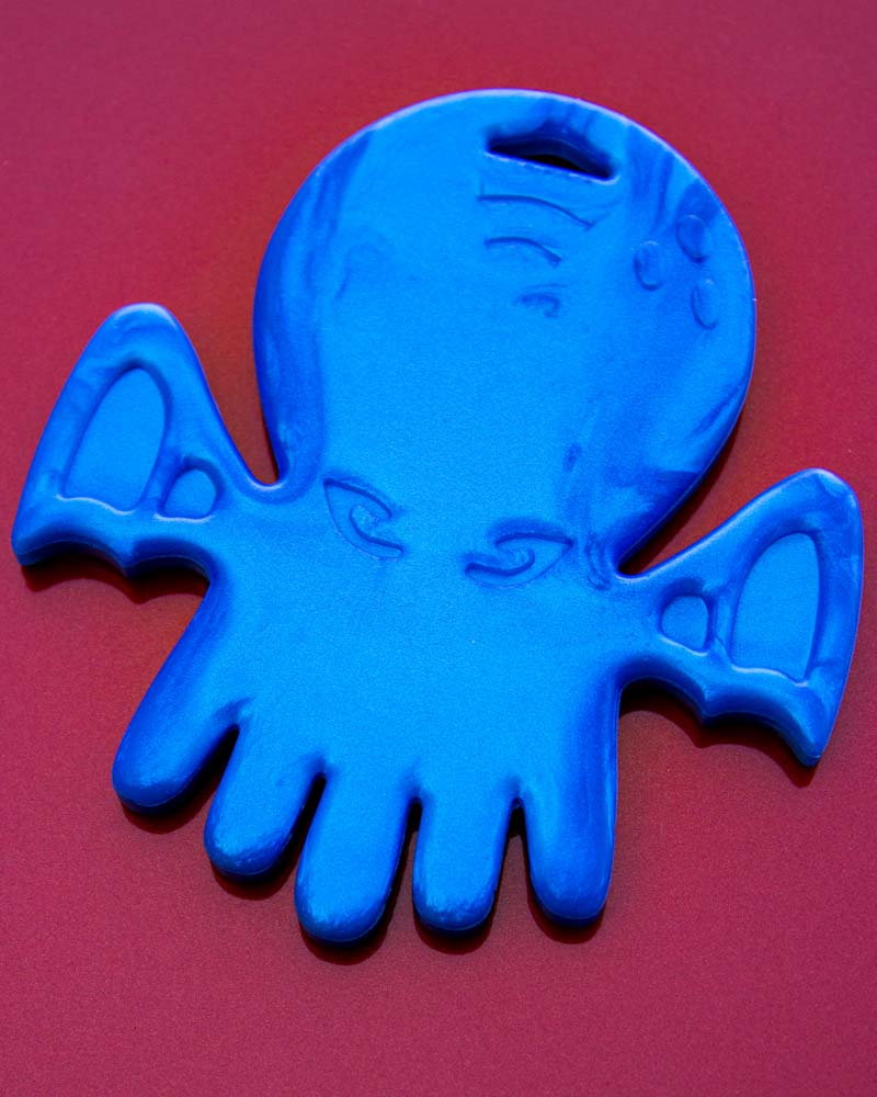 Helles Teeth Cthulhu Teether - Out Of Space Blue