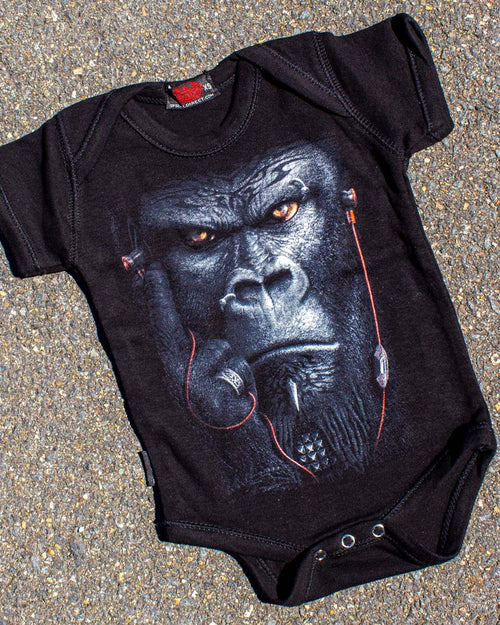 Spiral Direct Gothic Devolution Gorilla Onesie