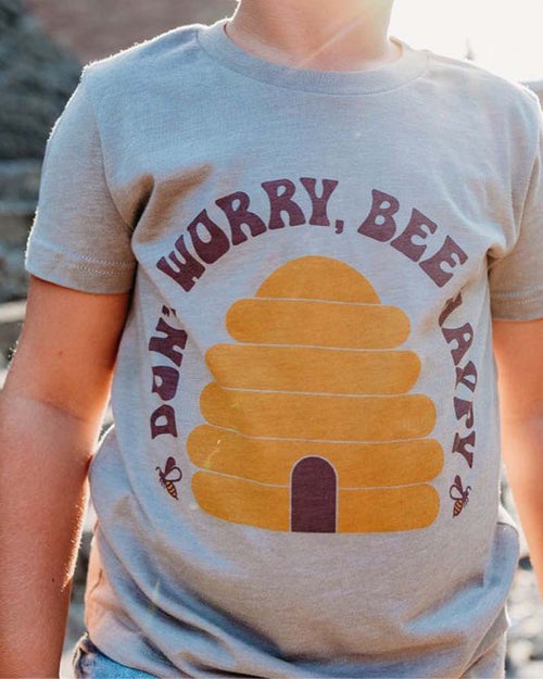 Rivet Apparel Co Don't Worry Bee Happy Tee