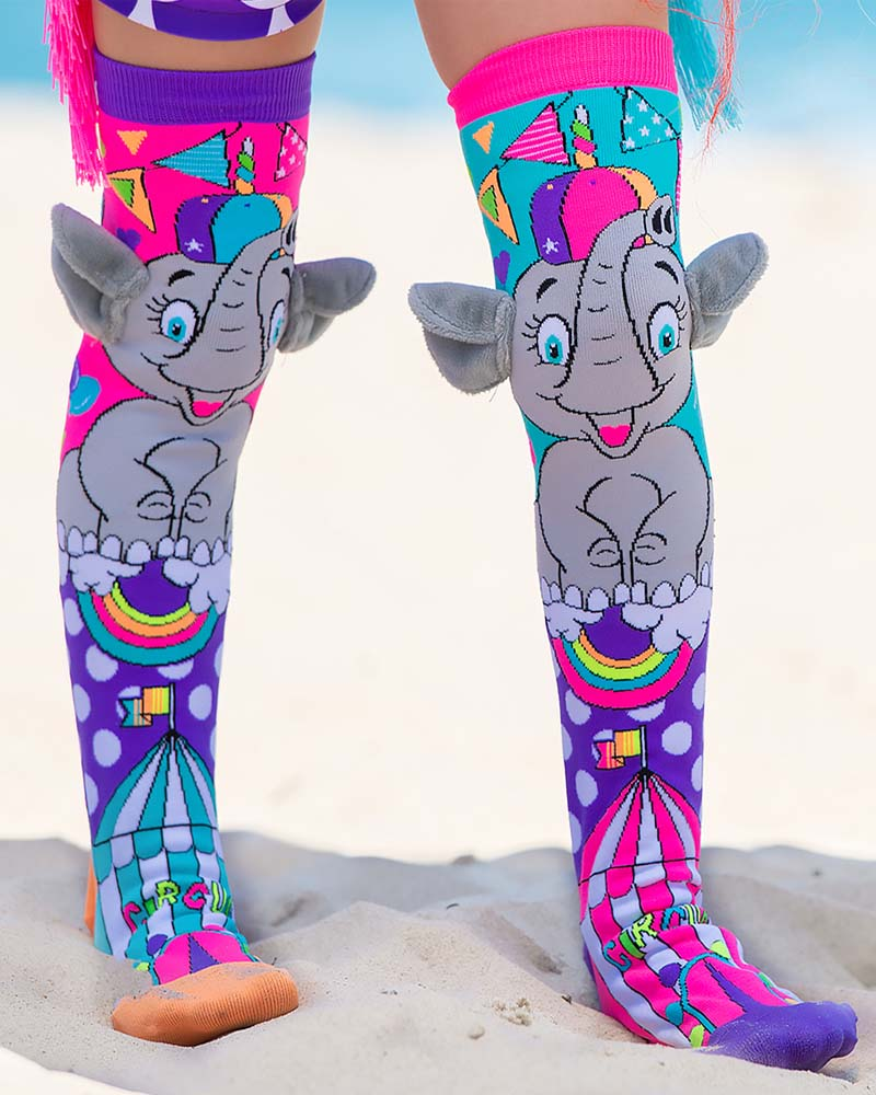 MadMia Elephant Ears Socks