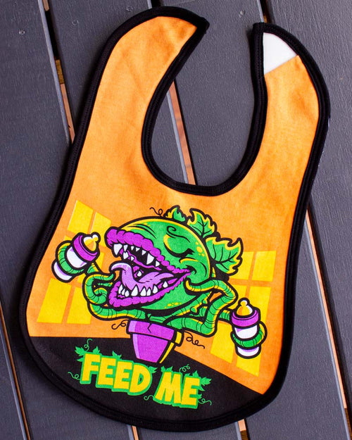 Harebrained Feed Me Bib