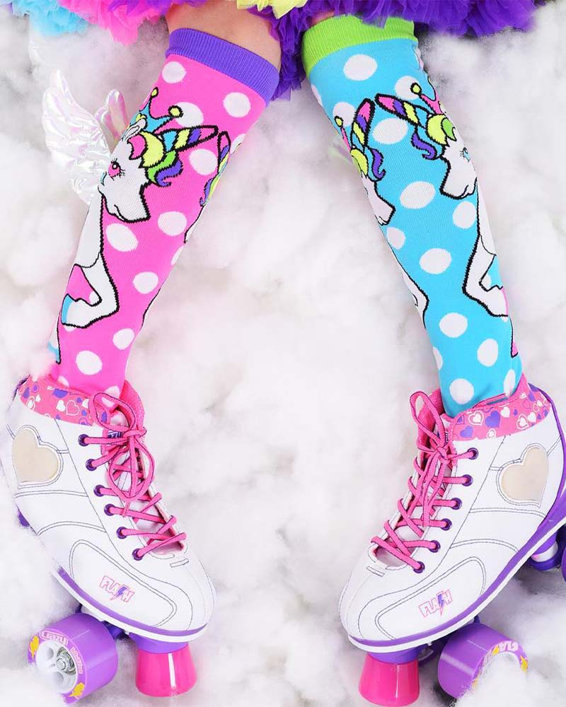 MadMia Flying Unicorn Socks