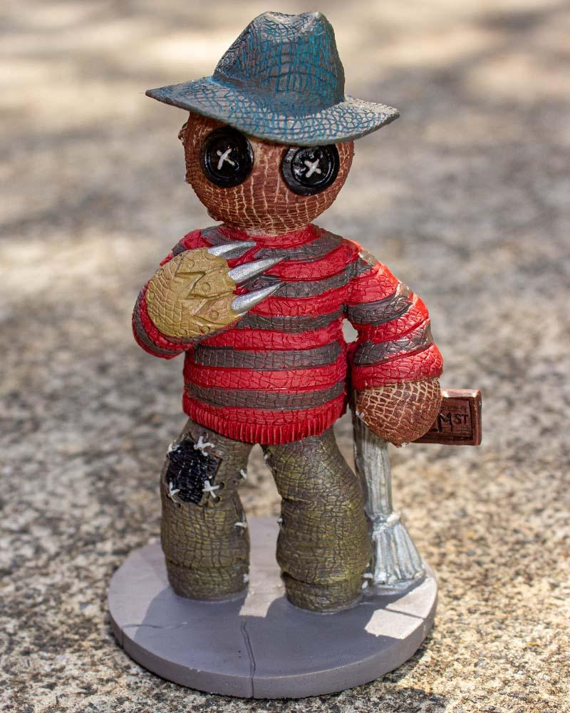 Pinheads Horror Monster Freddy Krueger Figurine