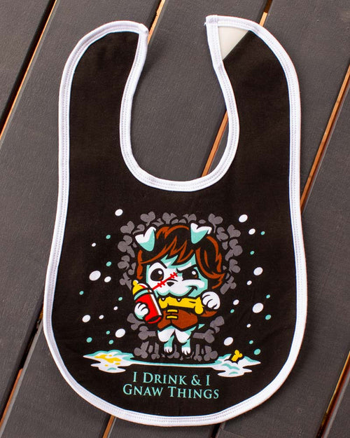 Game Of Bones Bib