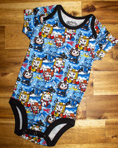 Skull Short Sleeved Onesie