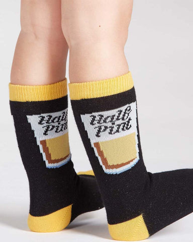 Wingin It Toddler Crew Socks