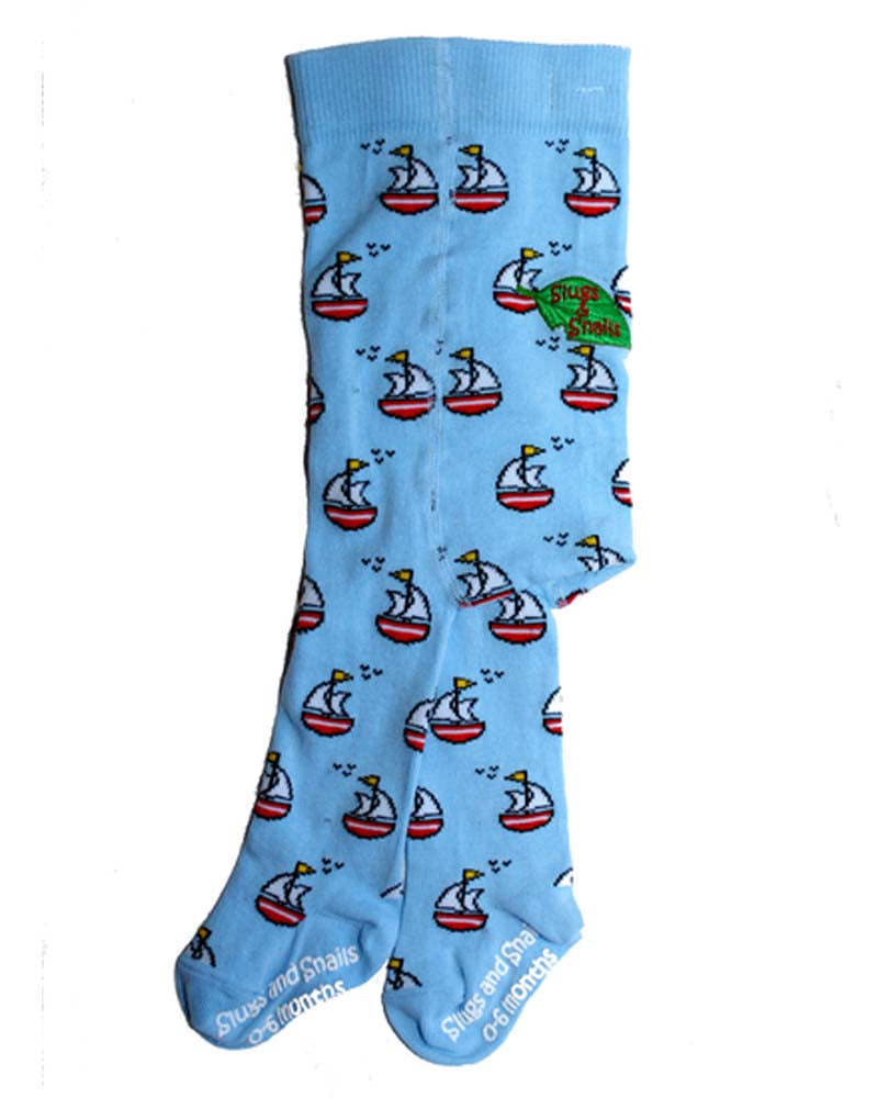 Slugs & Snails Hampton Sail Boat Tights