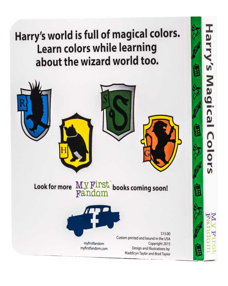 Harry's Magical Colours