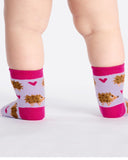 Sock It To Me Hedgehog Heaven Toddler Crew Socks