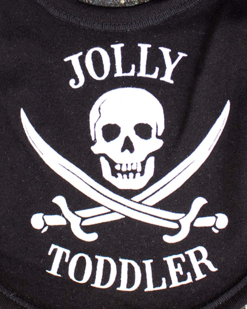 Darkside Jolly Toddler Bib