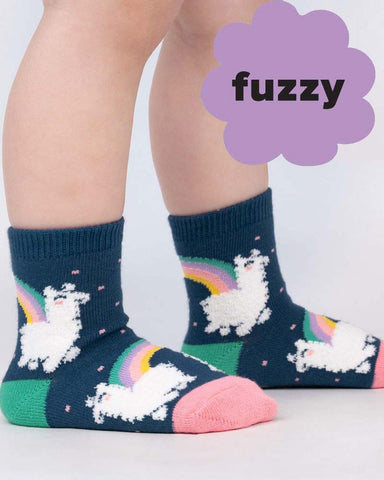 Hedgehog Heaven Kids Crew Socks