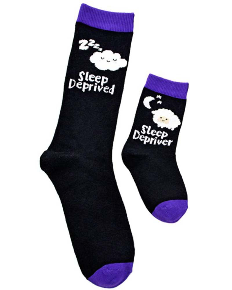 Piero Liventi Sleep Depriver & Deprived Mummy & Me Socks