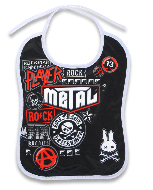 Metal Fan Bib