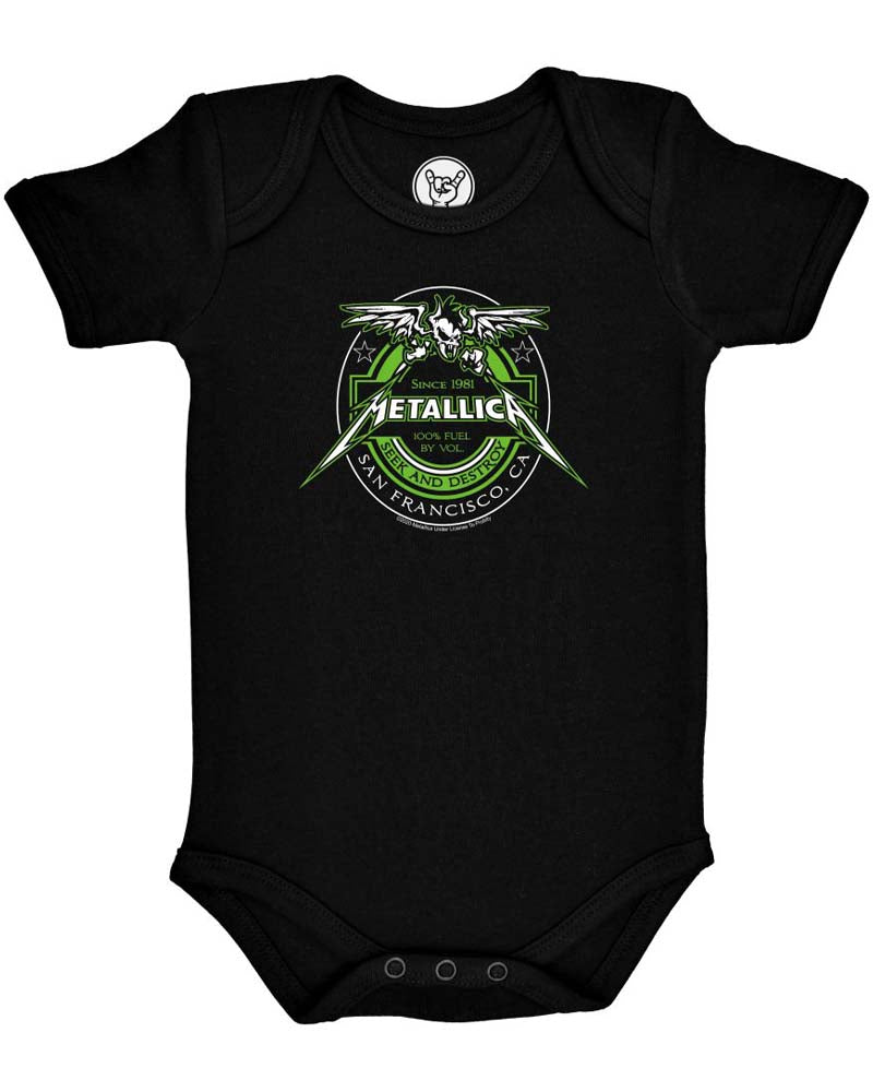 Metal Kids Metallica Fuel Onesie