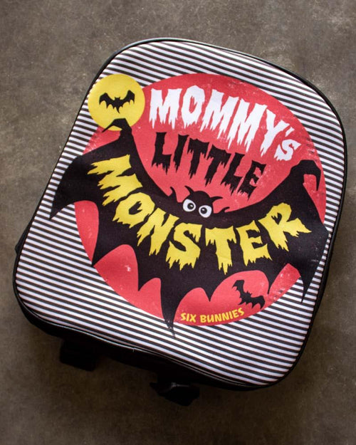 Six Bunnies Mommy's Little Monster Backpack