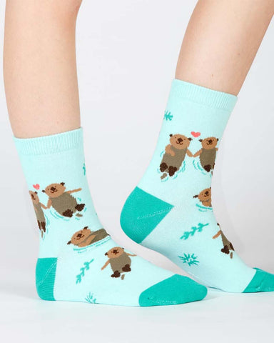Hedgehog Heaven Toddler Crew Socks